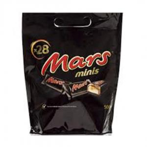 Mars Minis: 500g 28 mini mars