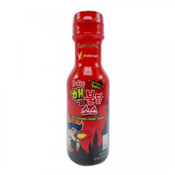 Samyang Extremely Hot Sauce: 200ml