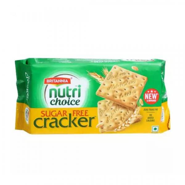Britannia Nutri Choice Sugar Free Cracker: 300g