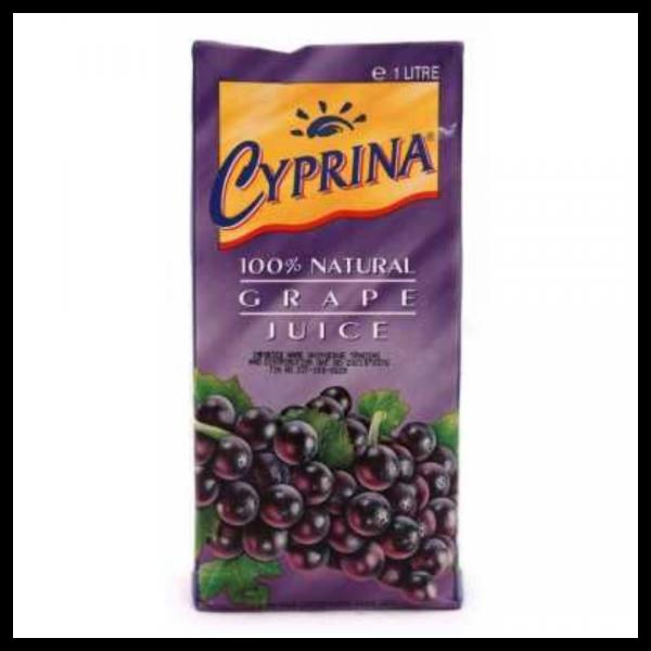 Cyprina Grape Juice: 1L