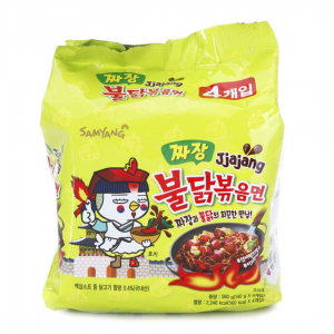 Samyang Jjajang: Family Pack (5 piece)