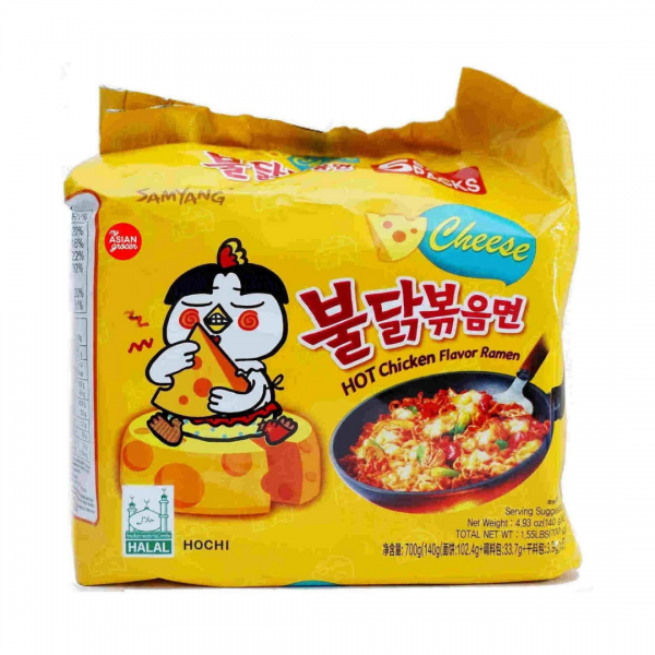 Samyang Cheese: Family Pack (5 piece)