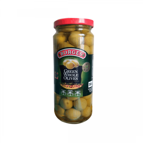 Borges Green Whole Olives - 350g