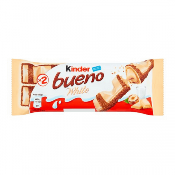 Kinder Bueno White Chocolate - 43g