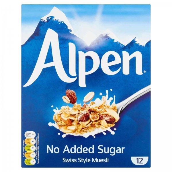 Alpen No Added Sugar - 550g