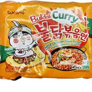 Samyang Curry Hot Chicken Flavor Ramen