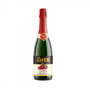 Pure Heaven Sparking Non Alcoholic Celebration Drink Red Grape - 750ml
