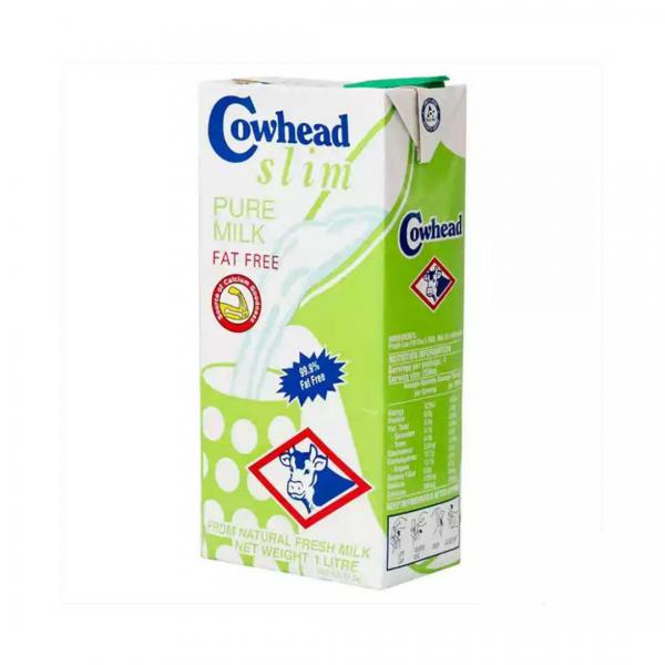 Cowhead Slim Pure Milk Fat free - 1L