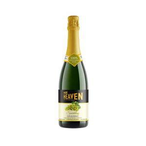 Pure Heaven Sparking Non Alcoholic Celebration Drink Green Grape - 750ml