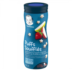 Gerber Puffs Strawberry Apple - 42g