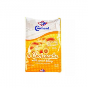 Cowhead 6 Croissants With Apricot Filling - 300g