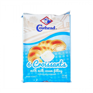 Cowhead 6 Croissants With Milk Cream Filling - 300g