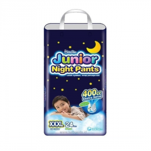 Mamypoko Junior night Pants xxxl - 24pcs (Boys)