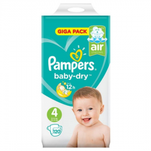 Pampers 4 Giga Pack - 120pcs