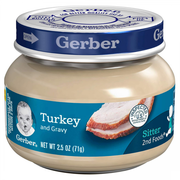 Gerber Turkey & Gravy - 71g