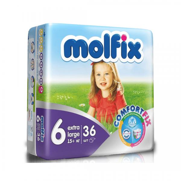 Molfix 6 Extra Large - Belt - 36pcs