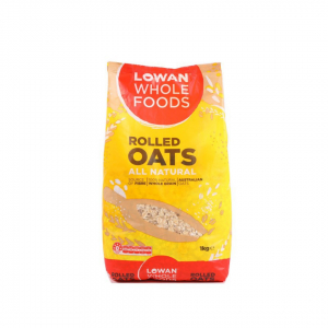 Lowan Whole Foods Rolled Oats - 1kg
