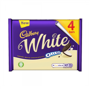 Cadbury White Oreo - 4 Bars