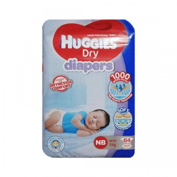 Huggies Diaper Large Belt - 64pcs