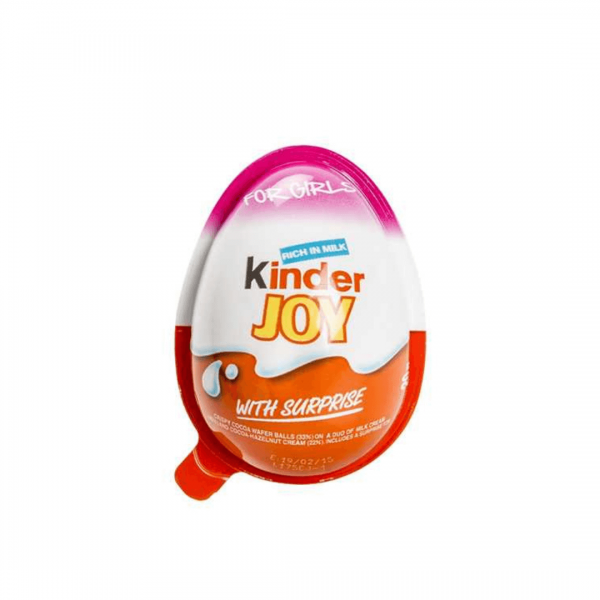 Kinder Joy for Girls - 20g