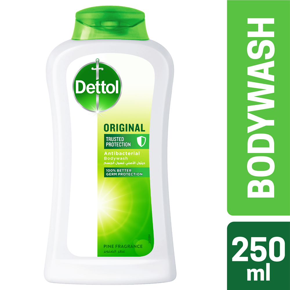 Dettol Antibacterial Bodywash Original 250 ml 1