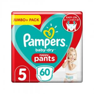 Pampers 5 Jumbo Pack - 60pcs