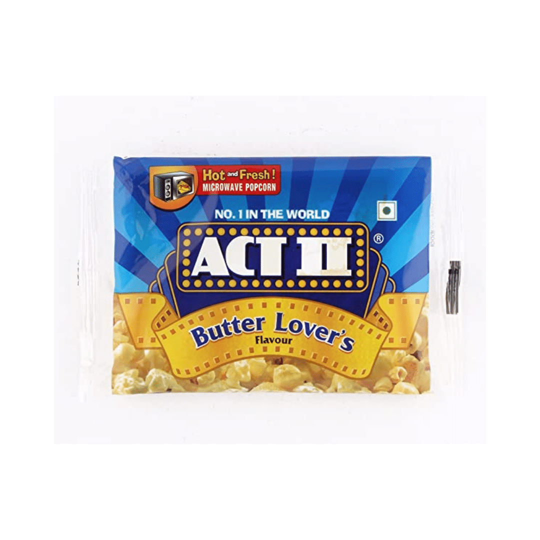 ACT 2 Butter Lovers Popcorn Microwave 99g