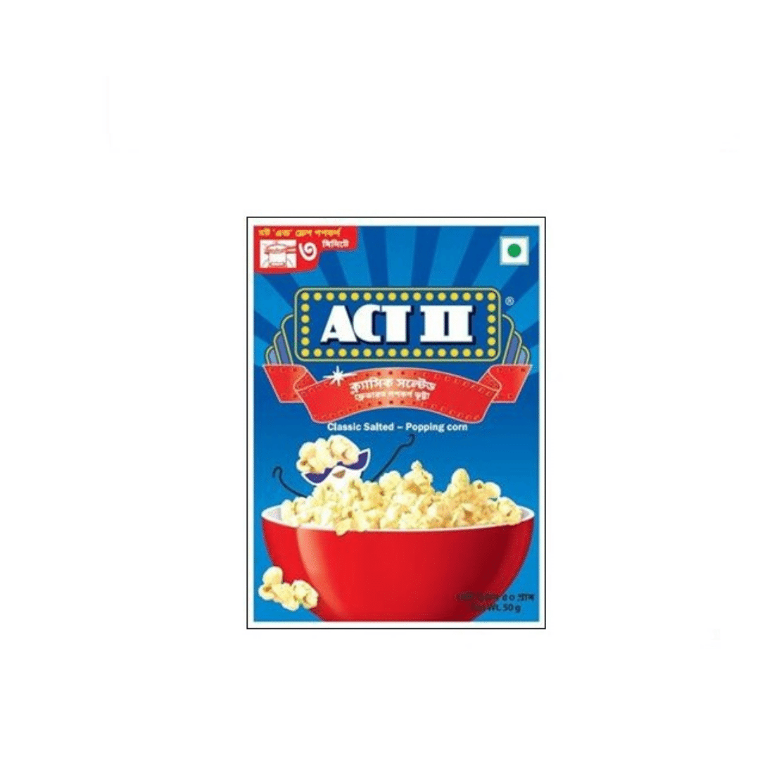 ACT 2 Classic Salted Popcorn 50g