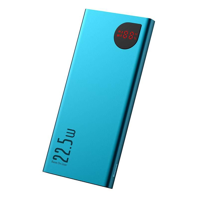 Baseus Adaman Metal Digital Display Quick Charge Power Bank 22.5W 10000mAh Tarnish