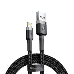 Baseus cafule Cable USB For lightning 1.5A 2M Gray+Black