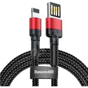 Baseus cafule Cable USB For lightning 1.5A 2M Red+Black