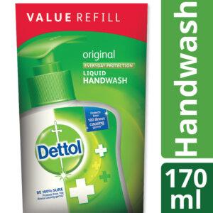 Dettol Handwash 170 ml Refill Poly Original_1