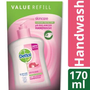 Dettol Handwash 170 ml Refill Poly Skincare_1