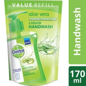 Dettol Handwash Aloe Vera 170ml Liquid Soap Refill