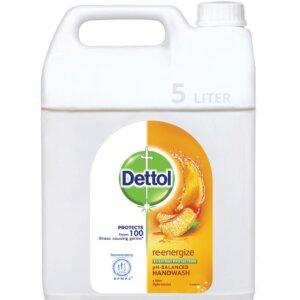 Dettol Handwash Re-energize Refill 5L