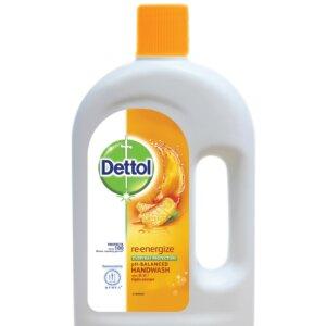 Dettol Handwash Re-energize Refill 750ml