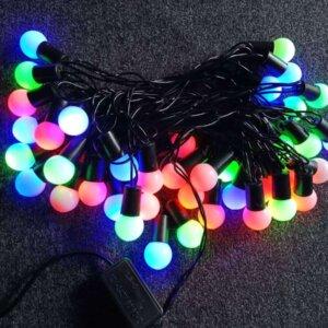 Fairy Led Round Shape Led light, 28 Pieces RGB Color Light