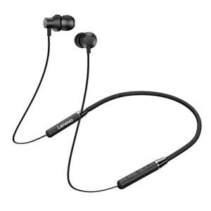 Lenovo HE05 Wireless In Ear Neckband Earphones - Black