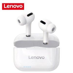 Lenovo LP1s TWS Bluetooth Earphone - Black / White