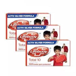 Lifebuoy Soap Bar Total 3x100gm