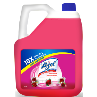 Lizol Floor Cleaner Floral Disinfectant Surface Cleaner - 5L