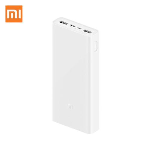 Mi 20000mAh Power Bank V3 USB-C With QC 3 18W - White