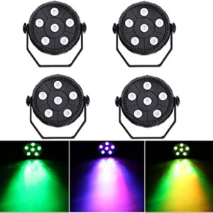New Style 6 LED Full Color Par Light 3-in-One