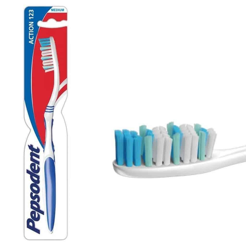 Pepsodent Toothbrush Action 123 Medium