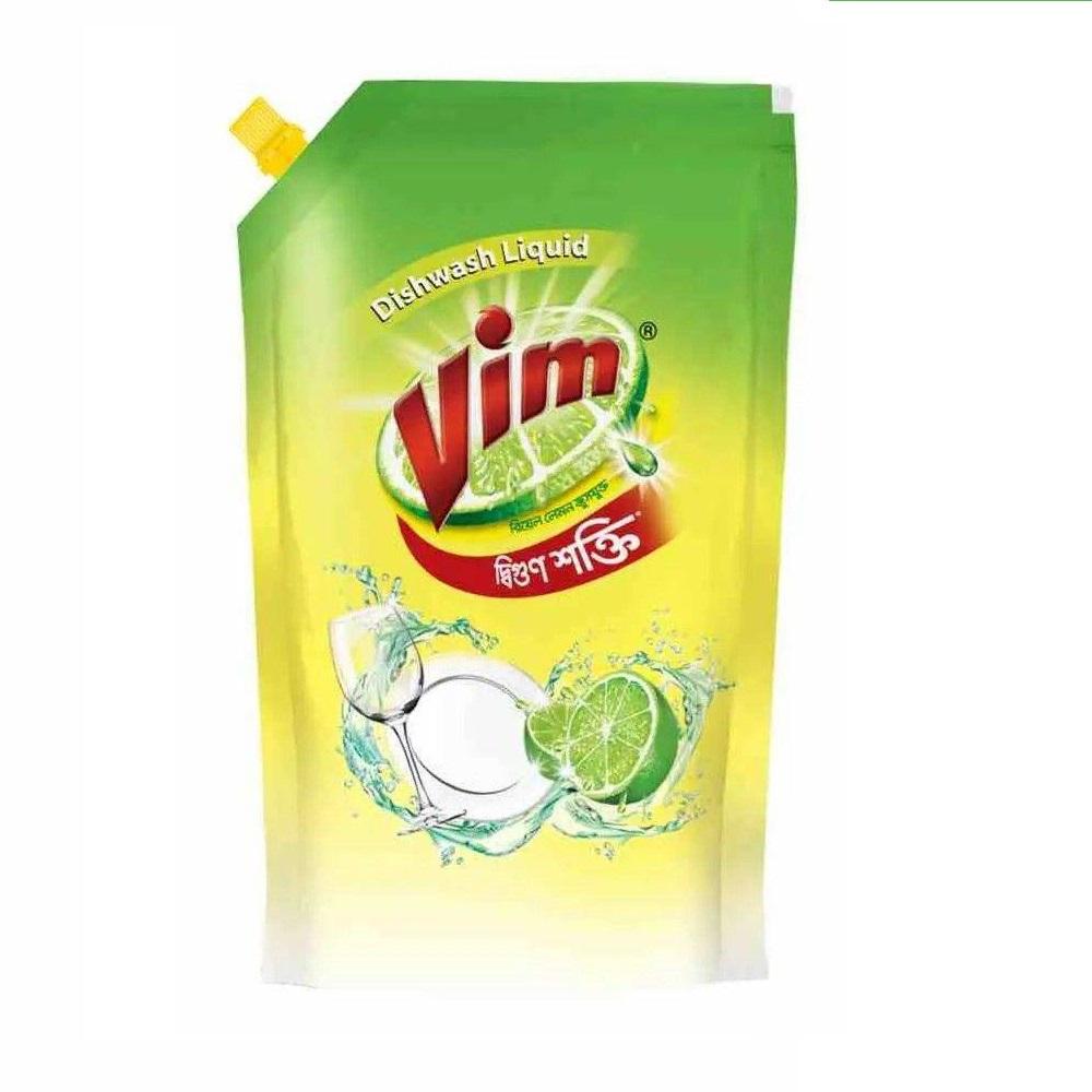Vim Dishwashing Liquid Spout Pack - 250ml