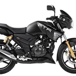 TVS Apache RTR Black