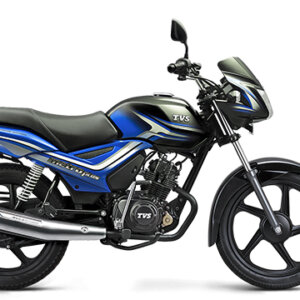 TVS Metro Plus Black Blue