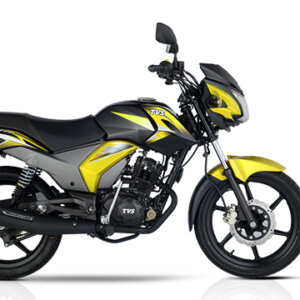 TVS Stryker Yellow