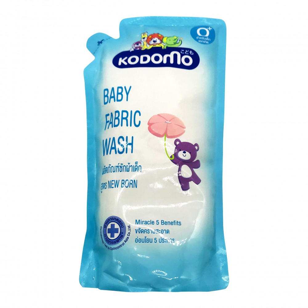 Kodomo Baby Fabric Wash Refill 600ml