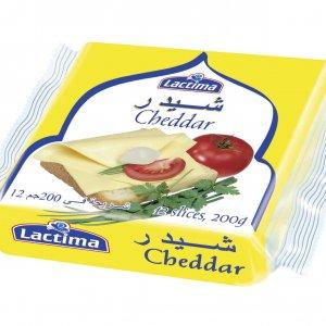 Lactima Cheddar Cheese Slice 200g